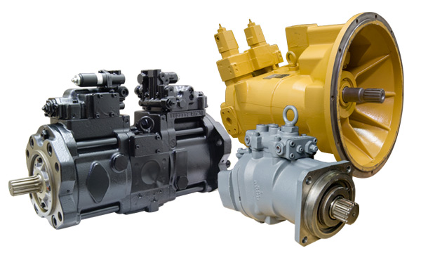Reman Hydraulic Pumps for Hitachi Equipment