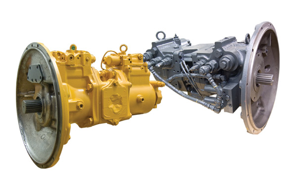 Remanufactured Komatsu Hydraulic Pumps & Motors - HPV, PC100, PC200, PC300, PC400, PC600