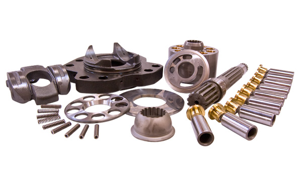 Replacement Aftermarket Hydraulic Pump Parts for: Kawasaki, Rexroth