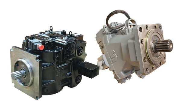 Remanufactured Sundstrand Hydraulic Pumps & Motors - 90 Series, M46, 45, 42, 20, 18, 15