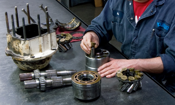 All About Hydraulic Component Repair